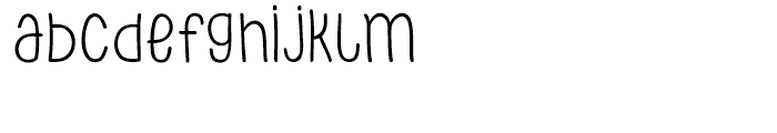PH 300 Regular Font LOWERCASE