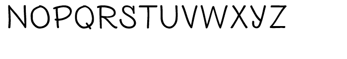 PH 500 Wide Font UPPERCASE