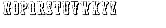 Phanitalian Shadow Font UPPERCASE