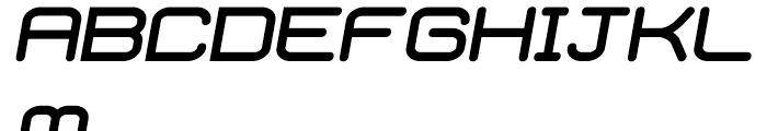 Phantom Bold Italic Font UPPERCASE
