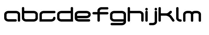 Phantom Bold Font LOWERCASE