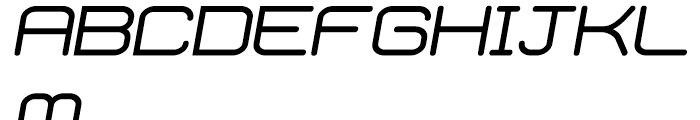 Phantom Italic Font UPPERCASE