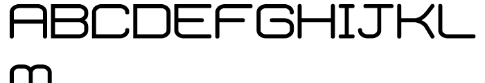 Phantom Regular Font UPPERCASE