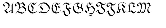 Pheder Frack Regular Font UPPERCASE