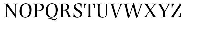 Photina Roman Font UPPERCASE