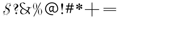 Phraxtured Regular Font OTHER CHARS