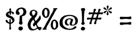 Phaeton Regular Font OTHER CHARS