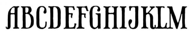 Phaeton Regular Font UPPERCASE