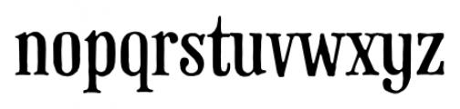 Phaeton Regular Font LOWERCASE