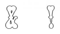 PhanitalianOutline Regular Font OTHER CHARS
