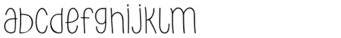 PH 100 Regular Font LOWERCASE