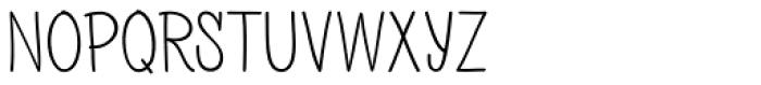 PH 200 Regular Font UPPERCASE