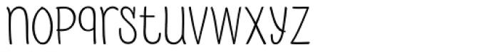 PH 200 Regular Font LOWERCASE