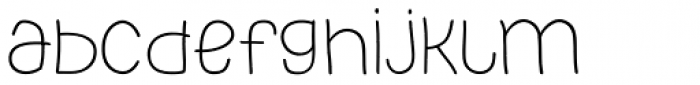 PH 200 Wide Font LOWERCASE