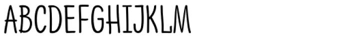 PH 400 Narrow Font UPPERCASE