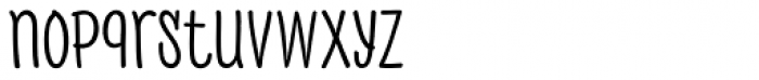 PH 400 Narrow Font LOWERCASE
