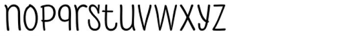 PH 400 Regular Font LOWERCASE
