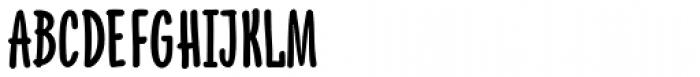 PH 800 Condensed Font UPPERCASE