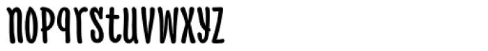 PH 800 Condensed Font LOWERCASE