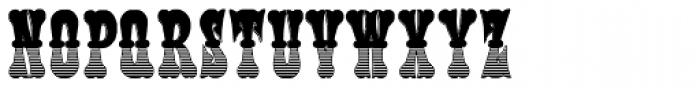 Phanitalian Deco Font LOWERCASE