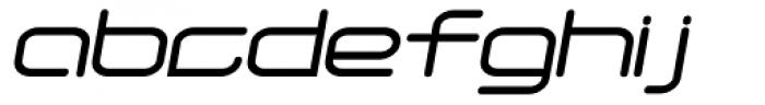 Phantom Italic Font LOWERCASE