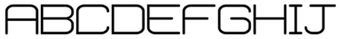 Phantom Light Font UPPERCASE