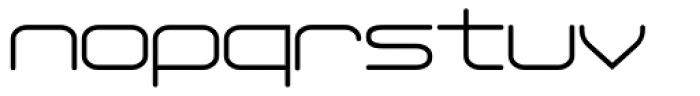 Phantom Light Font LOWERCASE
