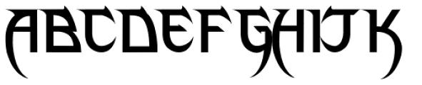 Phantom Lord Font UPPERCASE