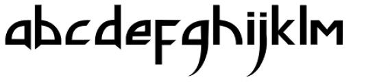 Phantom Lord Font LOWERCASE
