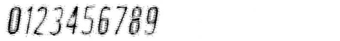 Phantom Oblique Font OTHER CHARS