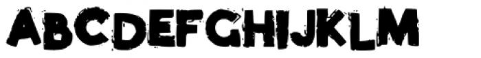 Phat Brush Font UPPERCASE