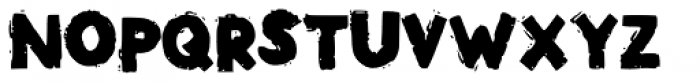 Phat Brush Font LOWERCASE