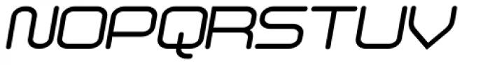 Phat Italic Font UPPERCASE