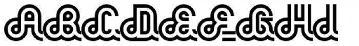Phatburner Font UPPERCASE