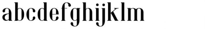 Phillips Muler  Regular Font LOWERCASE