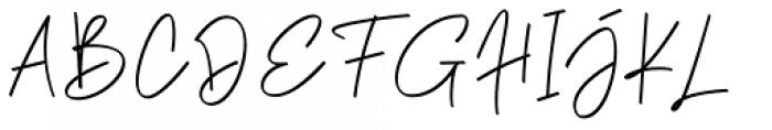 Phillips Muler  signature Font UPPERCASE