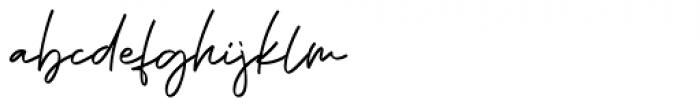 Phillips Muler  signature Font LOWERCASE