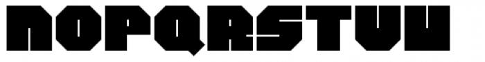 Philson Block Font UPPERCASE