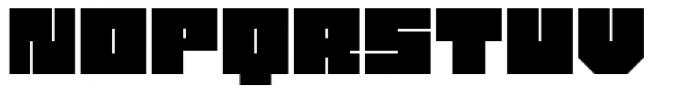 Philson Block Font LOWERCASE