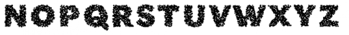 Phiz Particles One Font LOWERCASE
