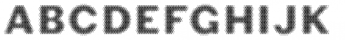 Phiz Particles Seven Font UPPERCASE