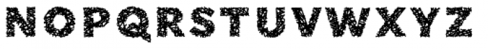Phiz Particles Six Font LOWERCASE