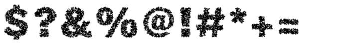 Phiz Particles Two Font OTHER CHARS