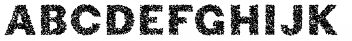 Phiz Particles Two Font UPPERCASE