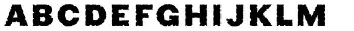 Phiz Rough Font LOWERCASE