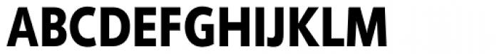 Phoenica Std Cond Black Font UPPERCASE