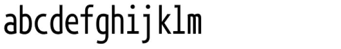 Phoenica Std Mono 0 Font LOWERCASE
