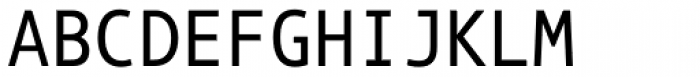 Phoenica Std Mono 650 Font UPPERCASE