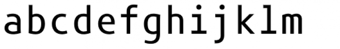 Phoenica Std Mono 950 Font LOWERCASE