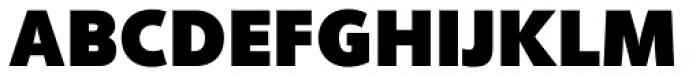 Phoenica Std UltraBlack Font UPPERCASE